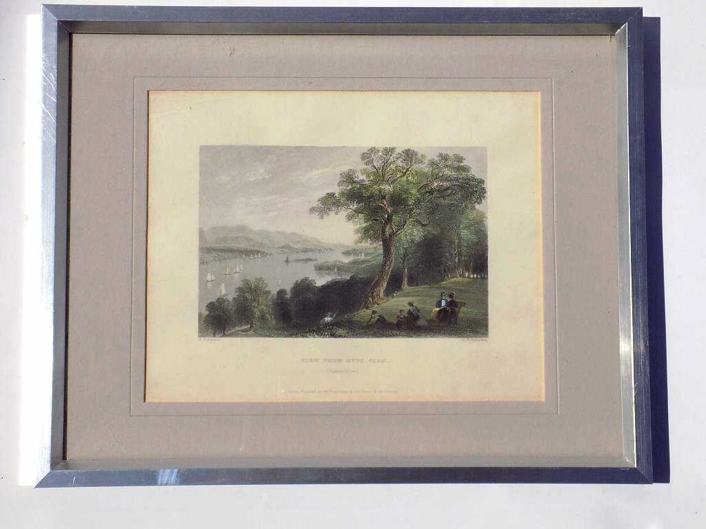 BARTLETT - HUDSON RIVER HYDE PARK ENGRAVING Geo Virtue - 4