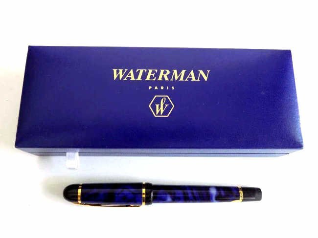 BOXED WATERMAN PARIS FOUNTAIN PEN Boxed Waterman Paris