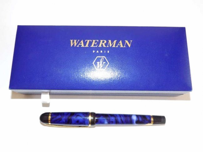 BOXED WATERMAN PARIS FOUNTAIN PEN Boxed Waterman Paris - 3