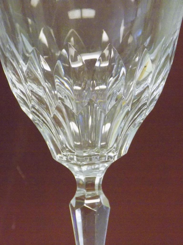 JOSAIR SET OF 6 CRYSTAL WINE GLASSES Josair set of 6 - 3