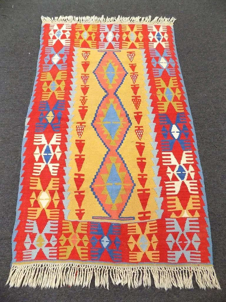 19TH 20TH CENTURY KILIM TRIBAL RUG 19th 20th Century