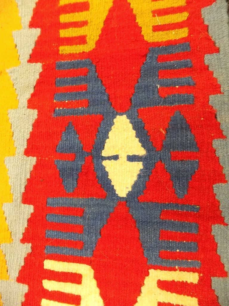19TH 20TH CENTURY KILIM TRIBAL RUG 19th 20th Century - 2