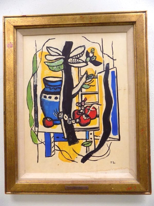 LEGER- STILL LIFE WITH FRUIT LITHOGRAPH