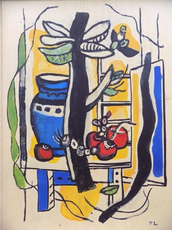 LEGER- STILL LIFE WITH FRUIT LITHOGRAPH - 2