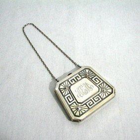 6: Art Deco Sterling Silver Purse