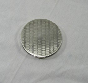 Vintage Rex Fifth Avenue Sterling Compact