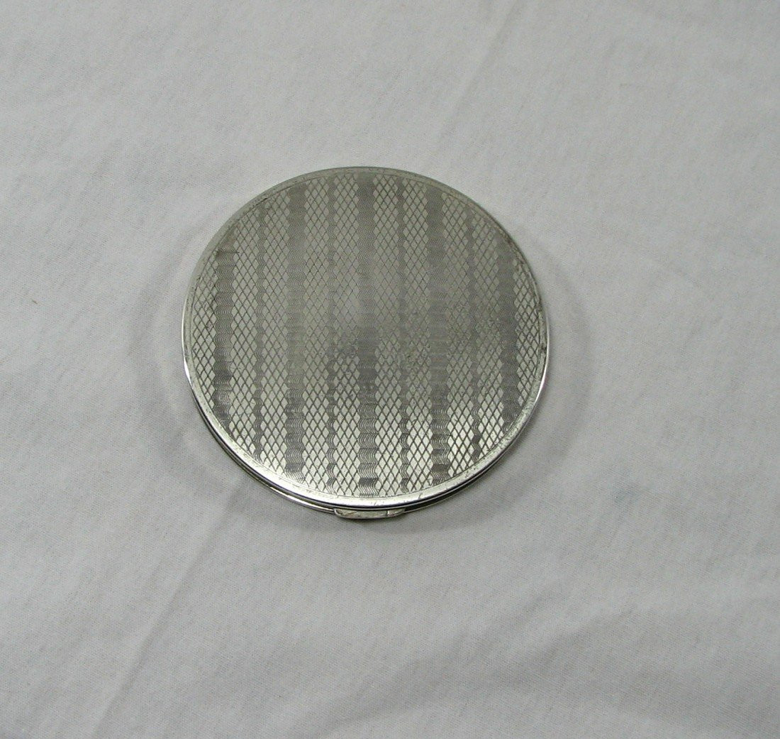 15A: Vintage Rex Fifth Avenue Sterling Compact