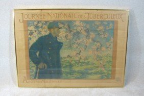 19: Antique World War 1 Poster by Levy Dhurmer