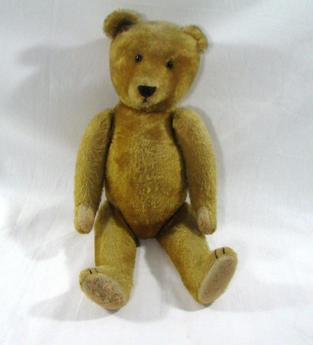 158: Antique Mohair Teddy Bear