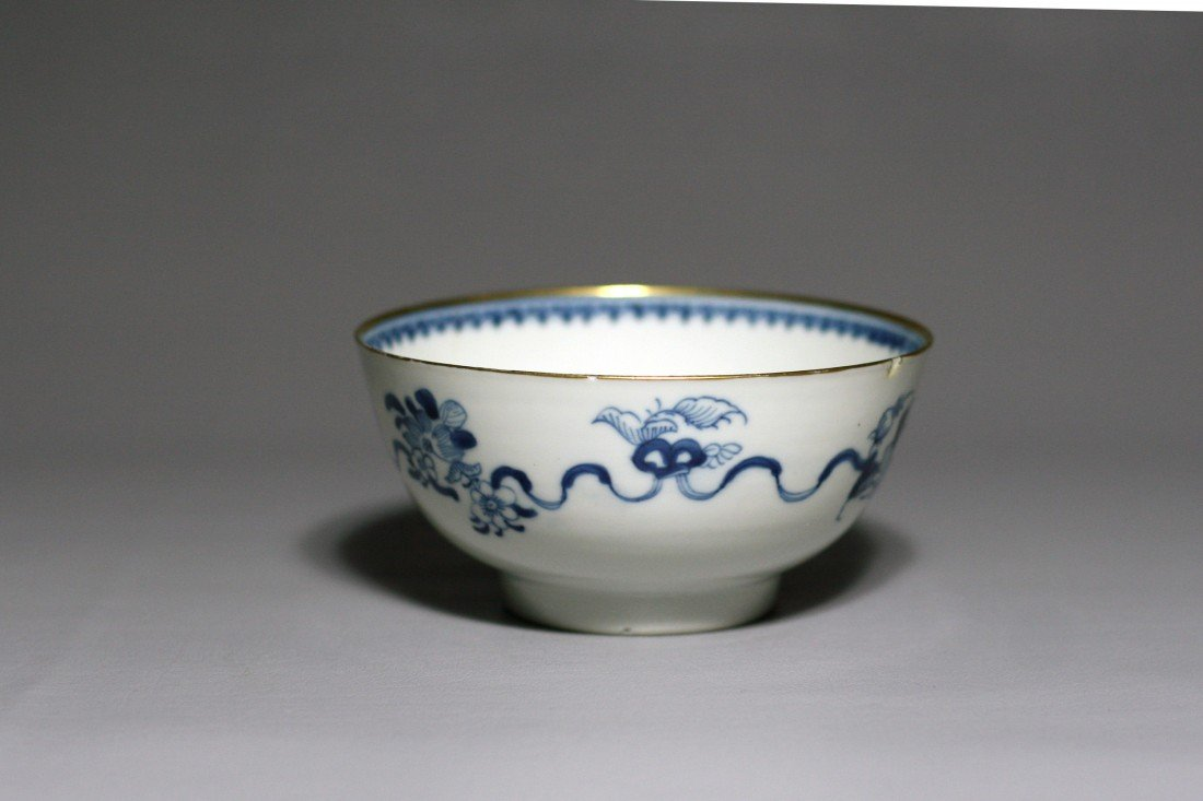 17: BLUE AND WHITE BOWL