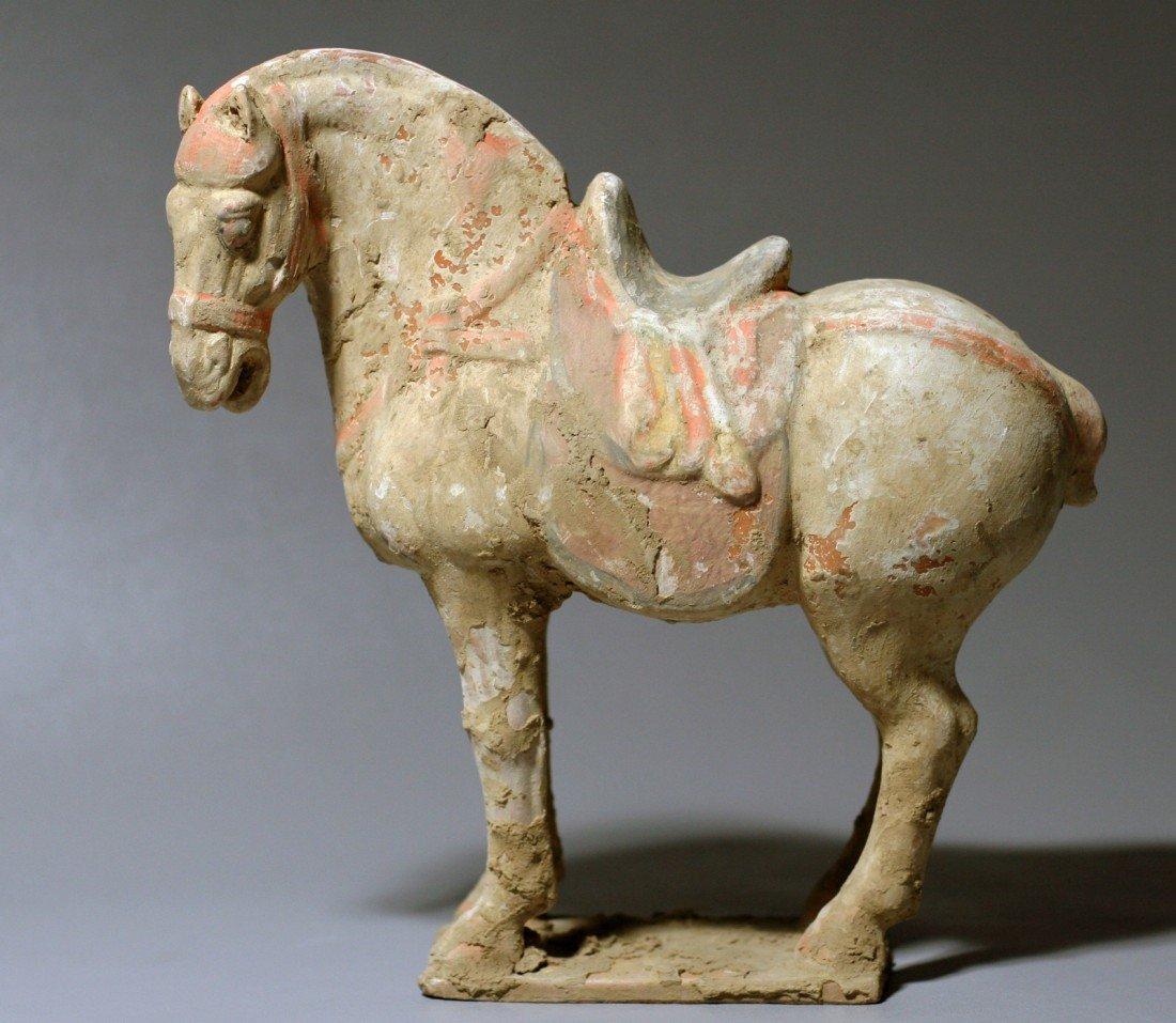 10: POTTERY HORSE
