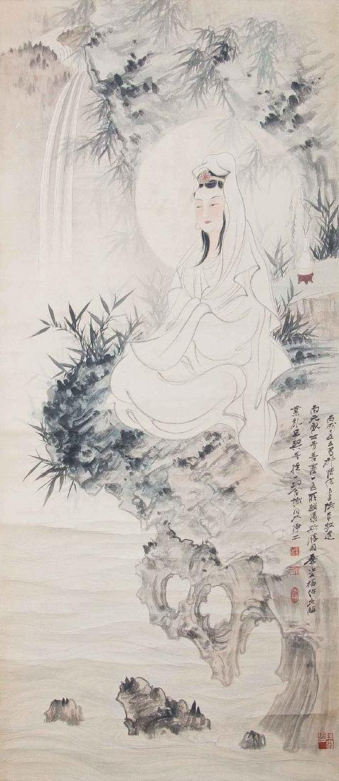 Zhang Daqian(1899~1983),Guanyin