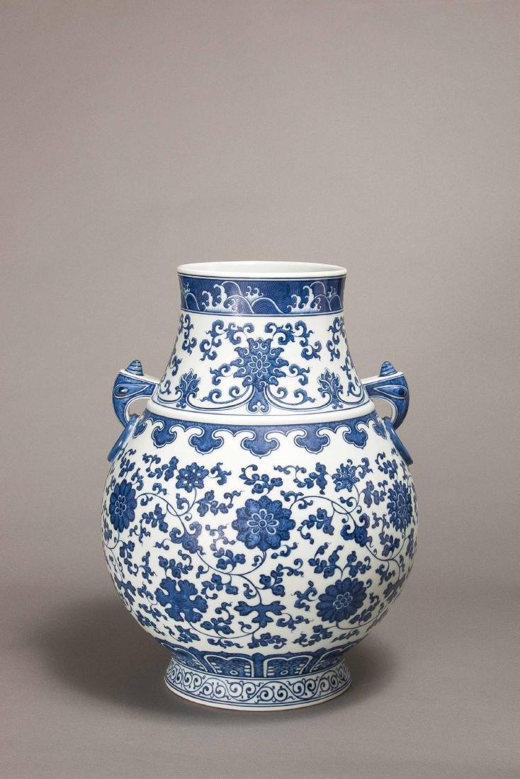 A Xiaofang Kiln Blue And White Vase
