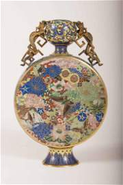 A Cloisonne Enamel Moonflask Period Of JIAQING