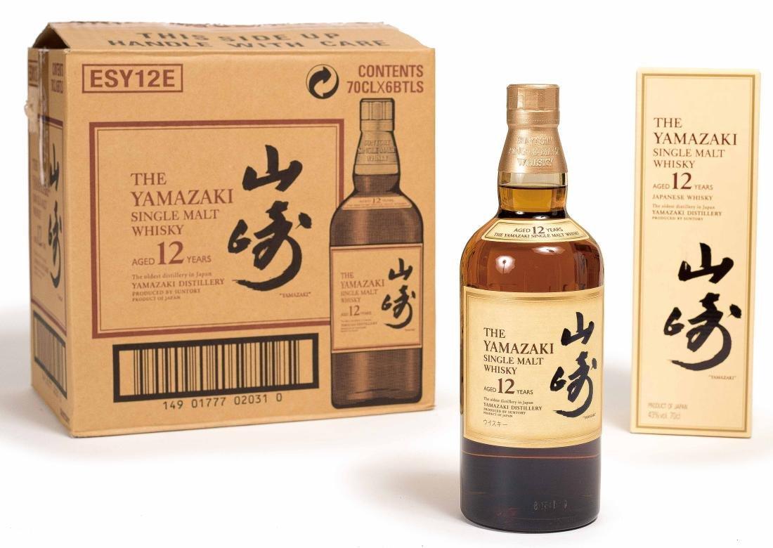 SIX BOTTLE OF YAMASAKI 12 WHISKEY