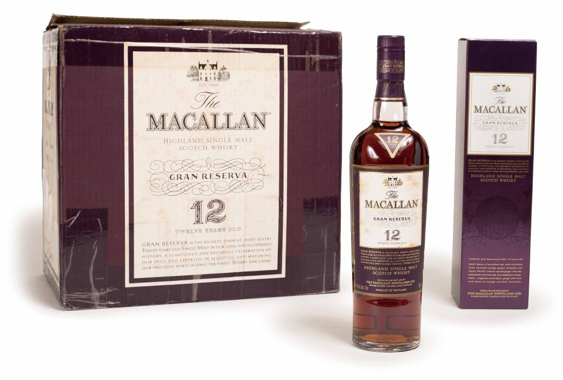 THIRTEEN BOTTLES OF MACALLAN WHISKEY