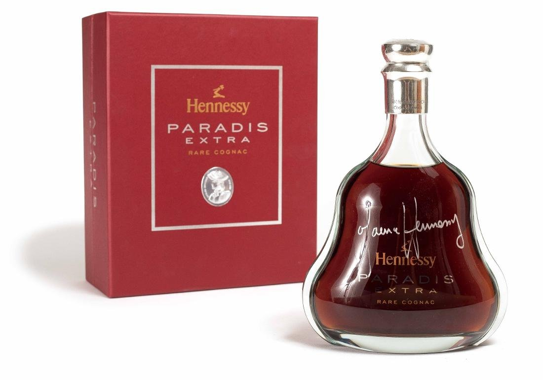 A BOTTLE OF HENNESSY PARADIS EXTRA BRANDY