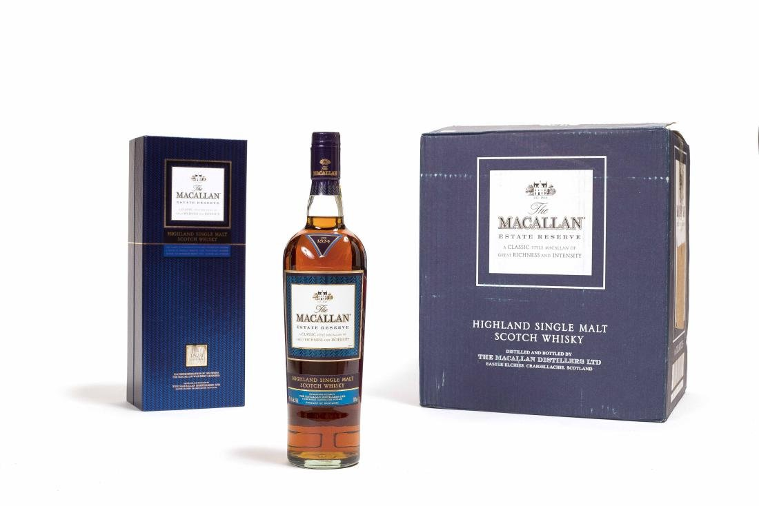 SIX BOTTLES OF MACALLAN THE 1824 COLLECTION WHISKEY