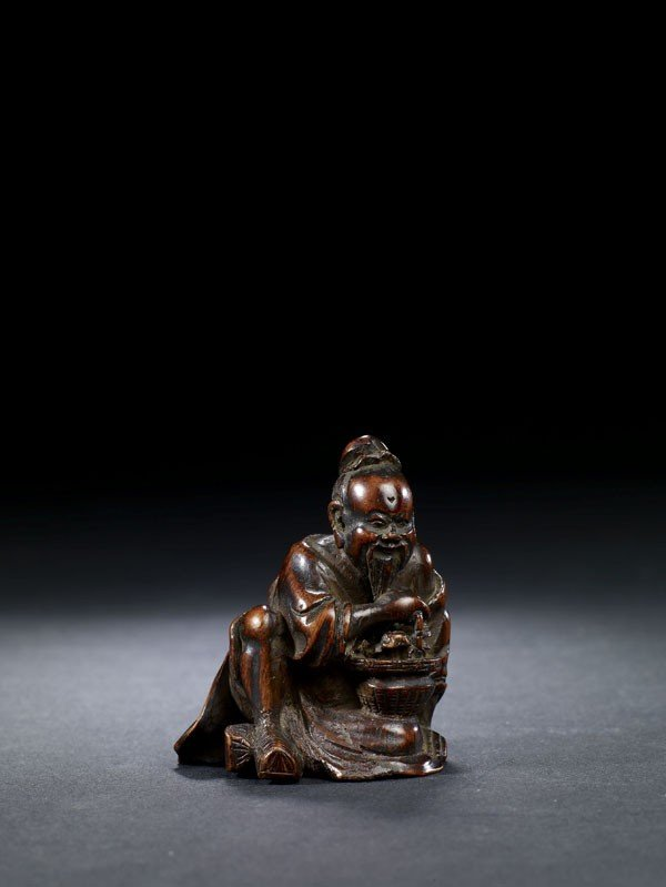 3: A Carved Bamboo Figure