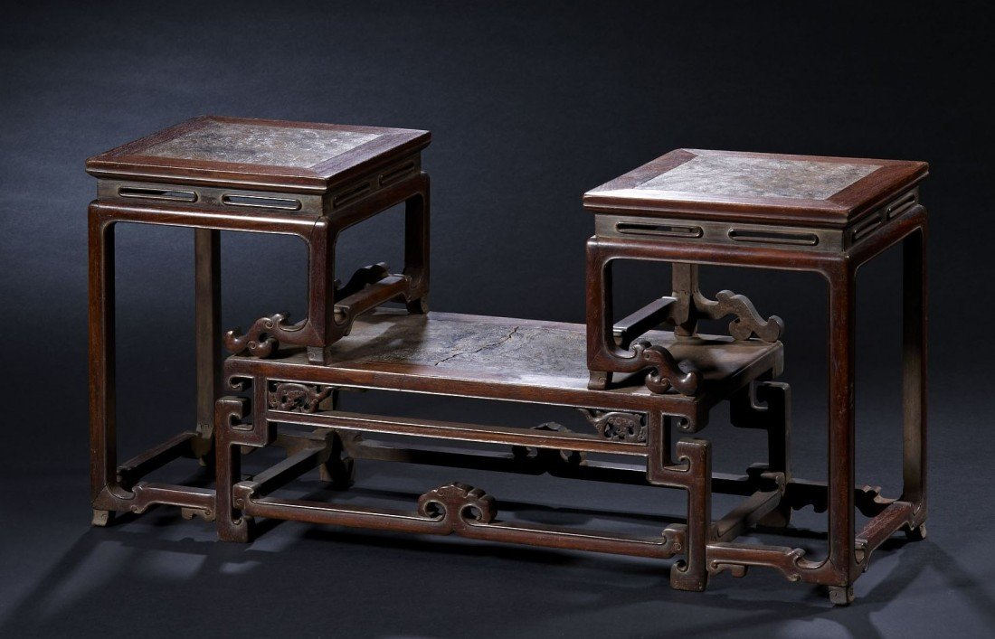 3: A Huanghuali Wood Display Table