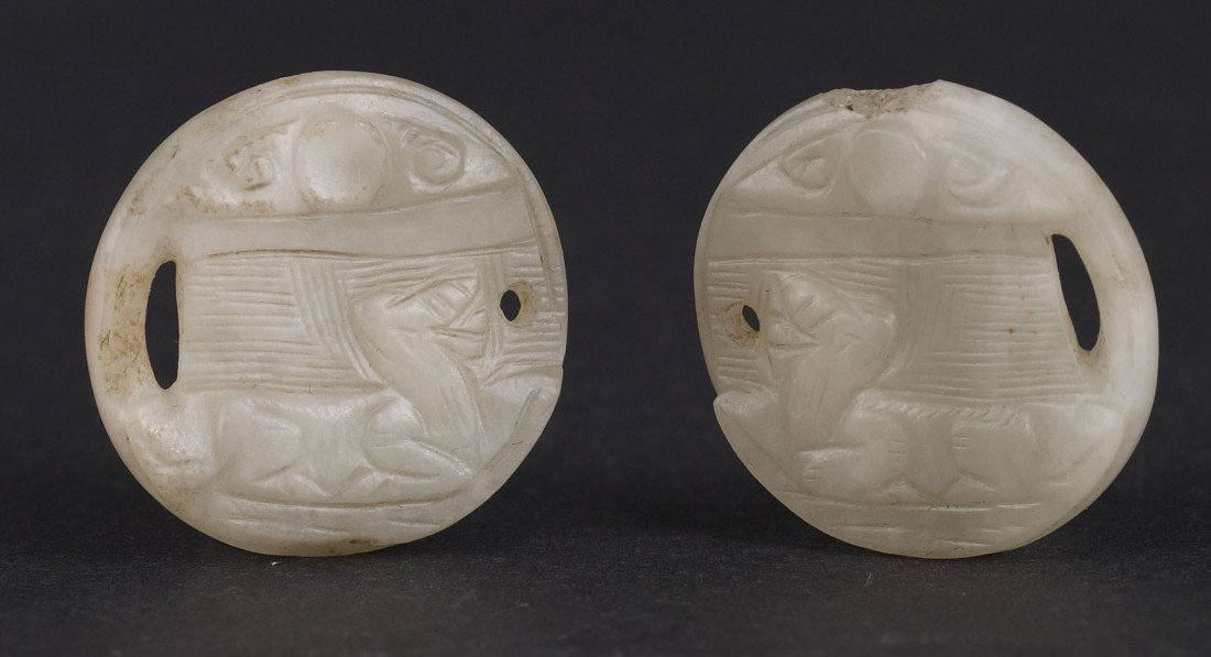 10: A Pair of Jade Pendant