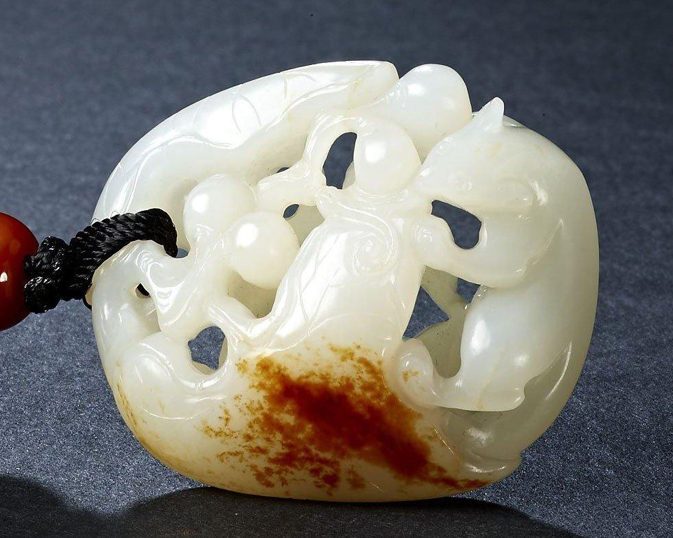 13: An Impressive White Jade Pendant