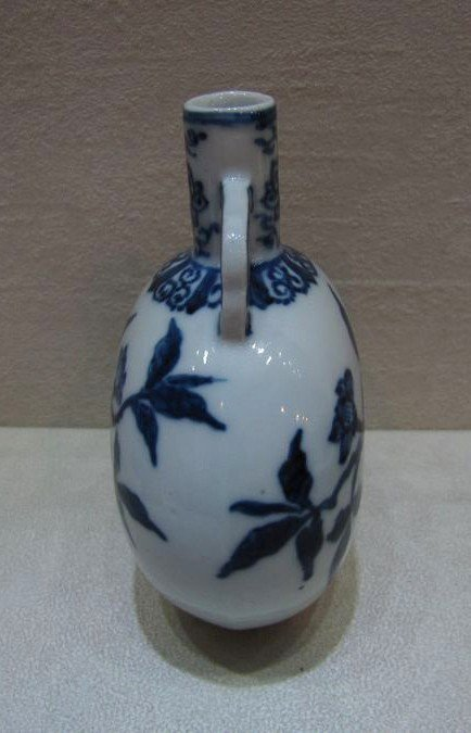 34: A Blue and White Moonflask - 4
