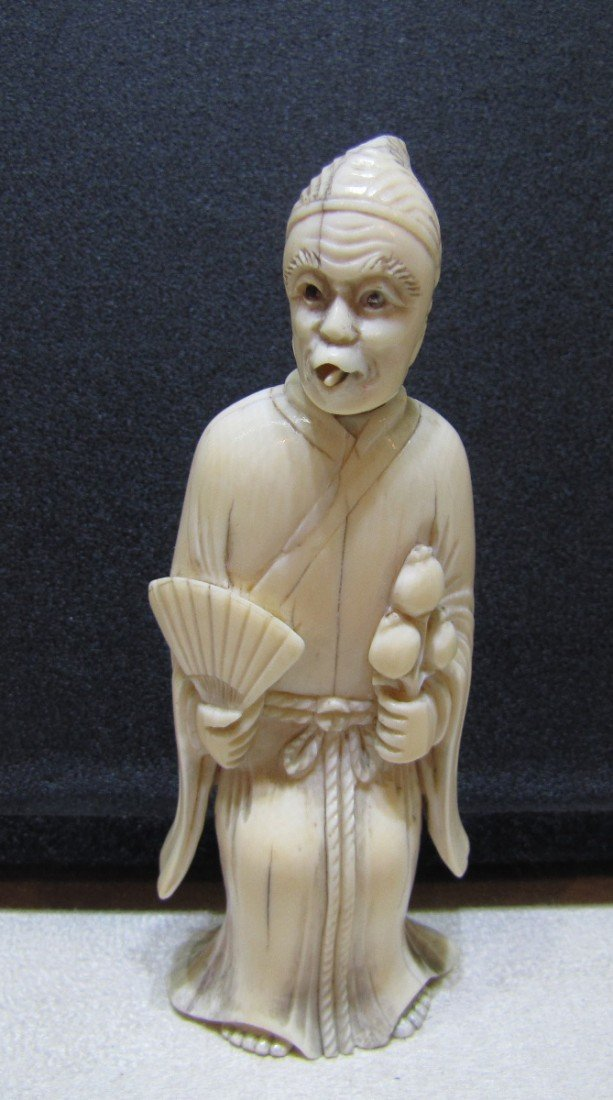 196: A Chinese Ivory Figure