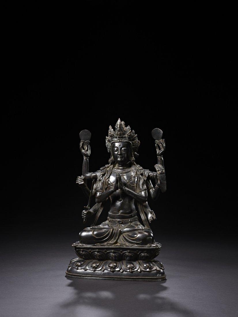 10: A Bronze Figure of Marici Buddha
