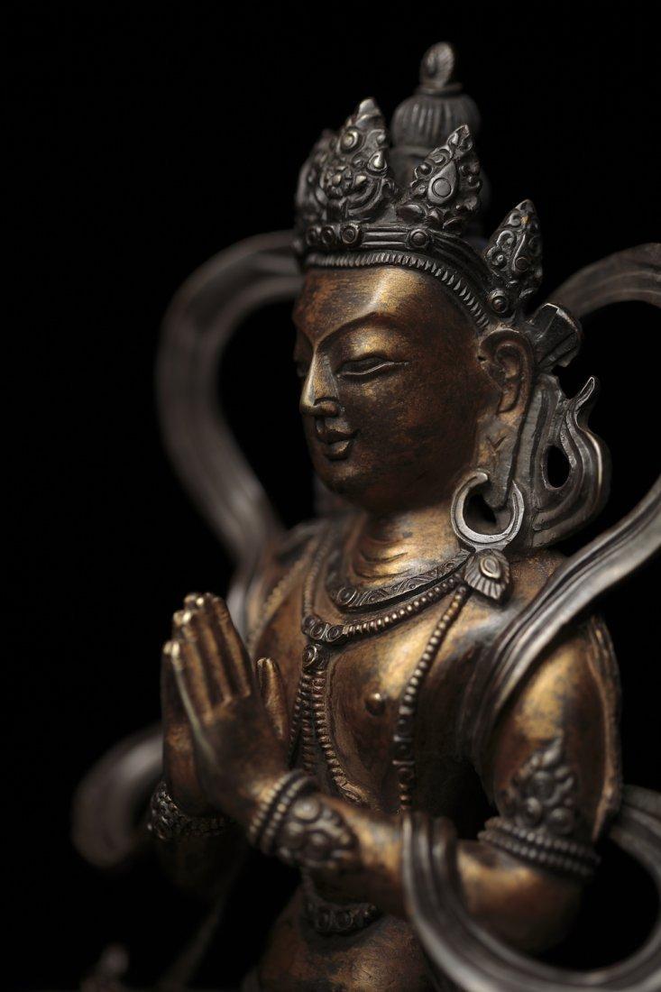 11: A Bronze Figure of Tara Drolma Buddha