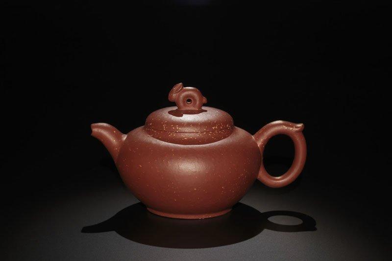 24: A Rabbit Pottery Teapot By Gao Lijun