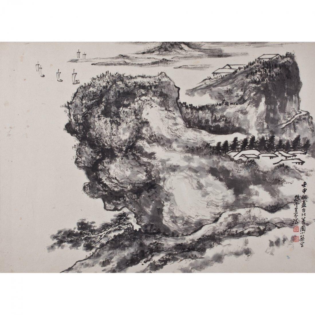 MOUNTAINS BY SUN YUNSHENG