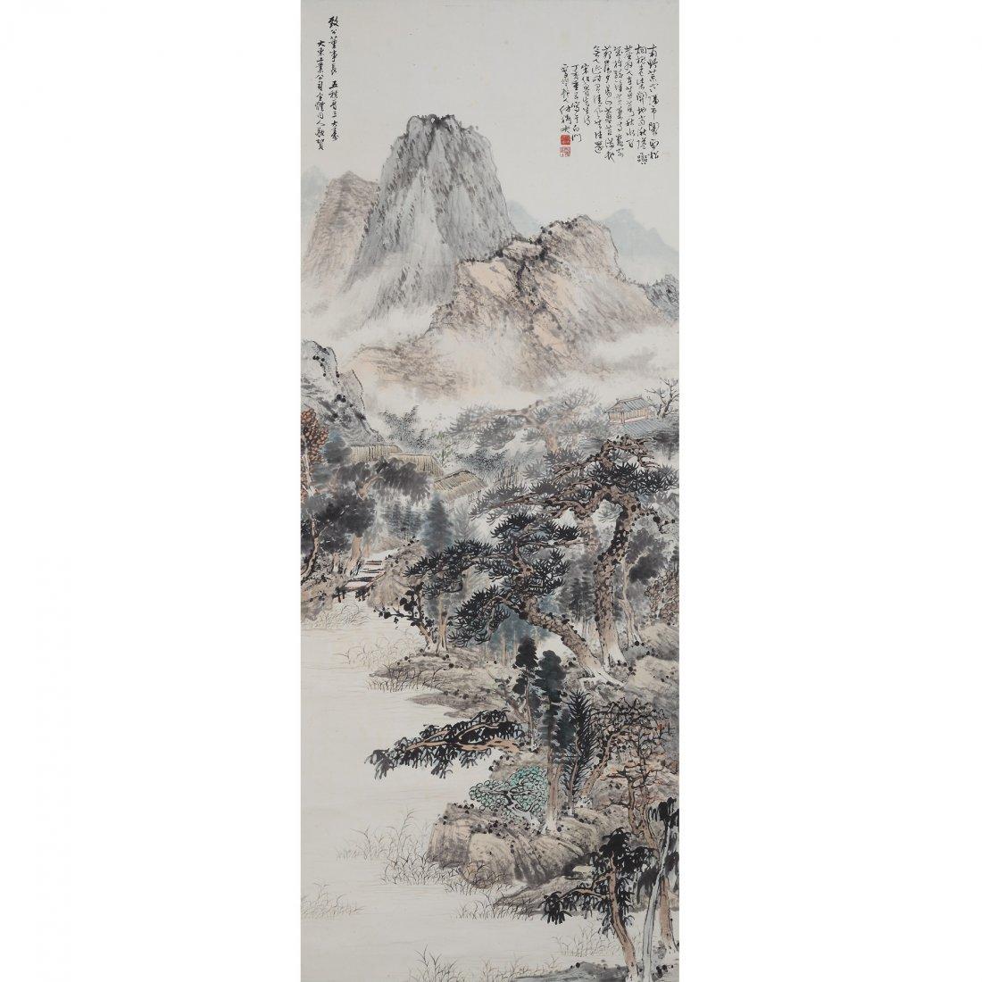 LANDSCAPE BY FU JUANFU