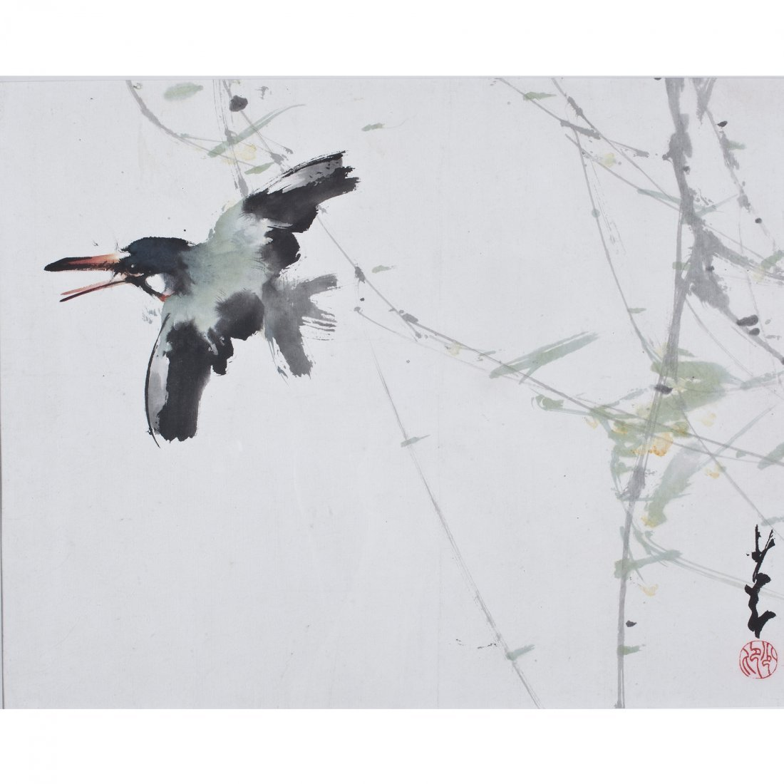 FLOWER AND BIRD BY ZHAO SHAOANG