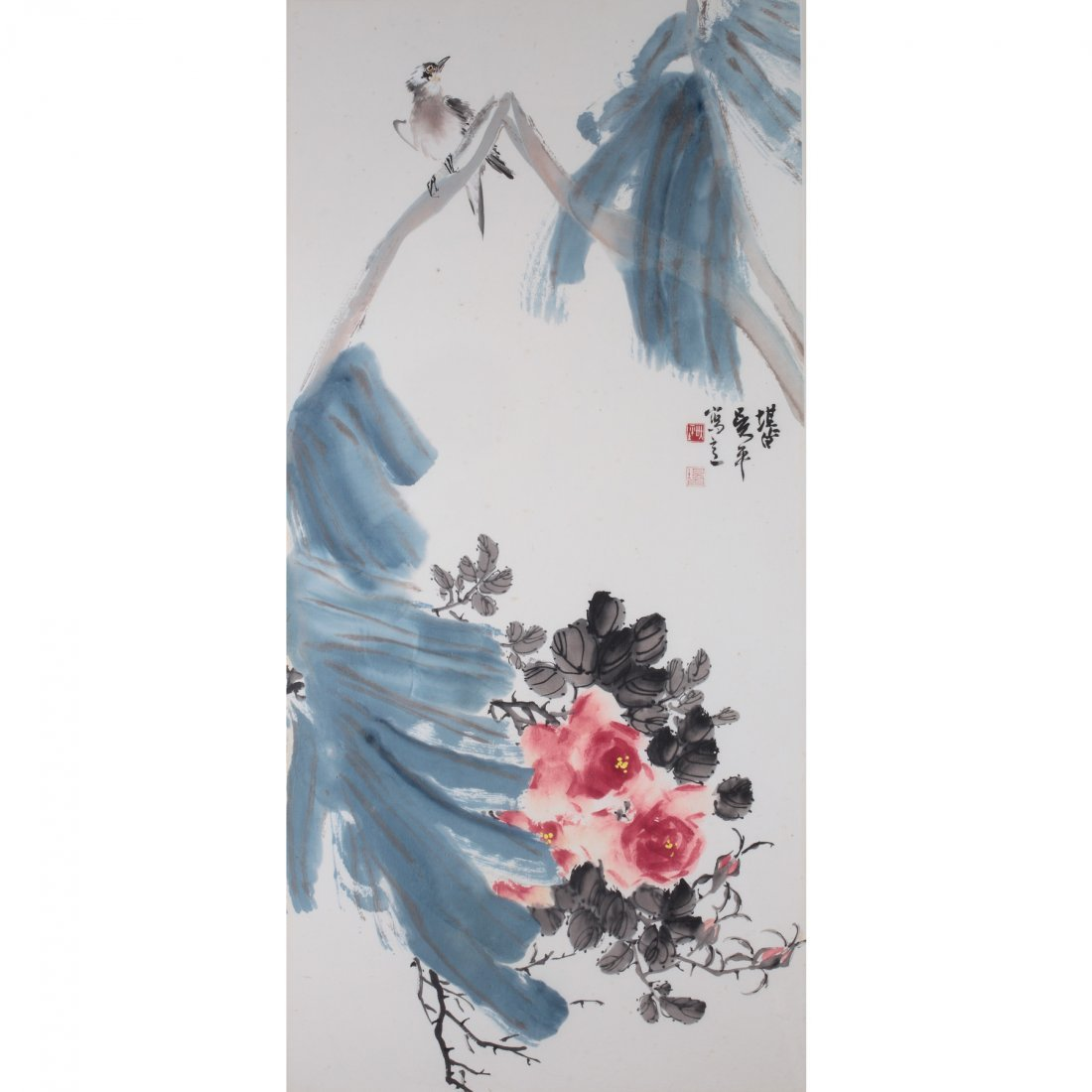 FLOWER AND BIRD BY WU PING
