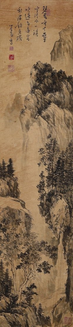 Pu Ru(1896~1963) Landscape