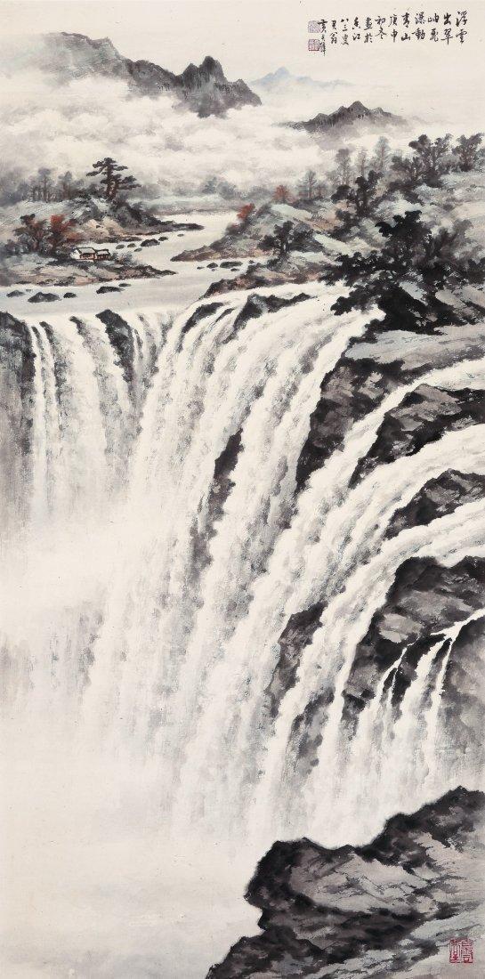 HUANG JUNBI(1898~1991), VICTORIA WATERFALL