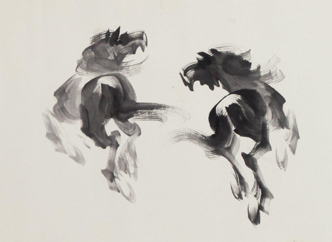 WANG NONG (1926-2013) HORSE - 3