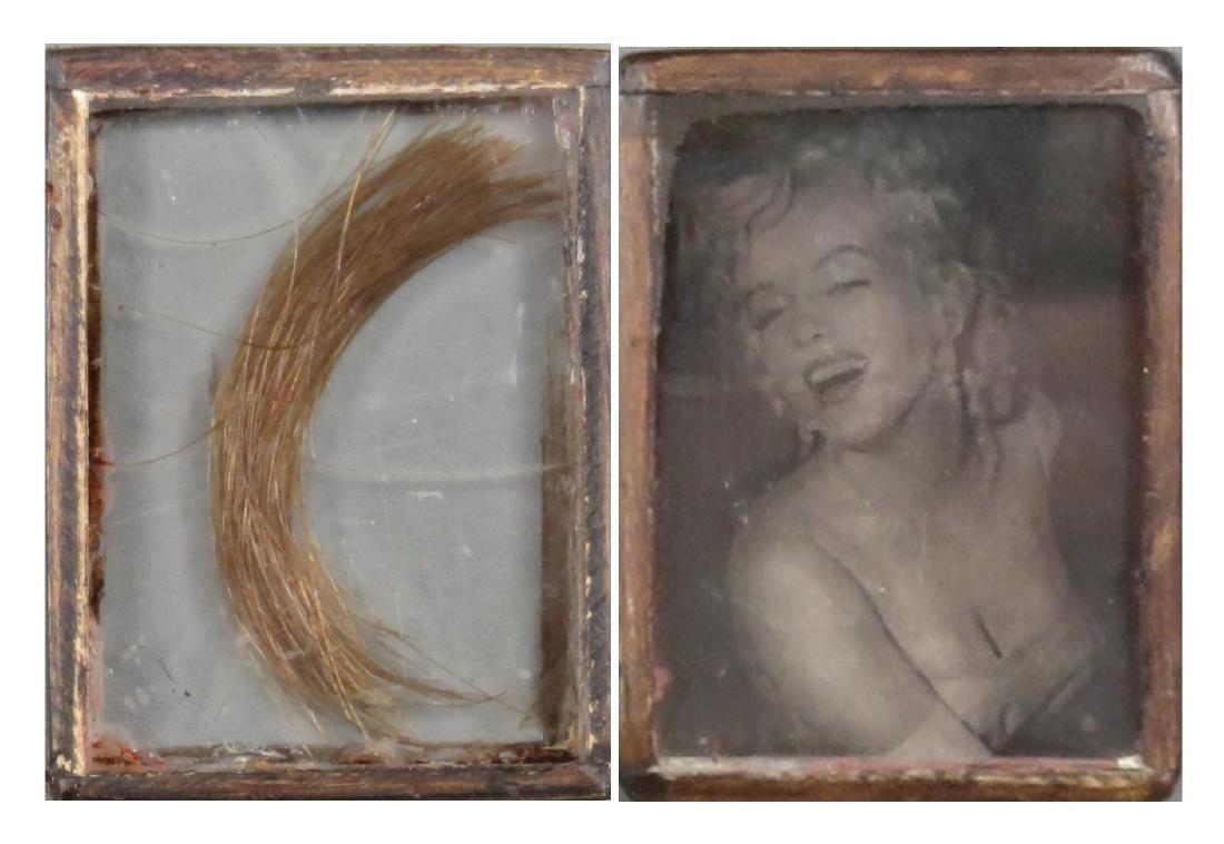 Marilyn Monroe's Hair From her hair dresser