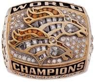 1999 Denver Broncos Super Bowl XXXIII Championship Ring