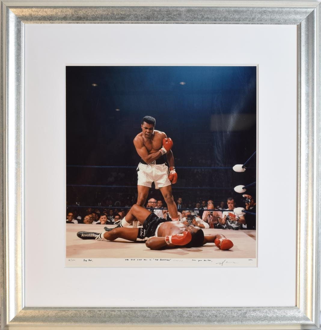 Ali Vs. Liston One of the Most Iconic Sports Photos