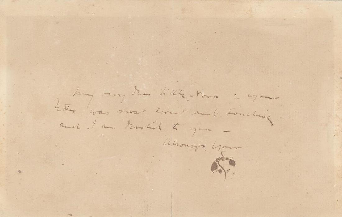 James Abbott McNeill Whistler- Signed ALS with