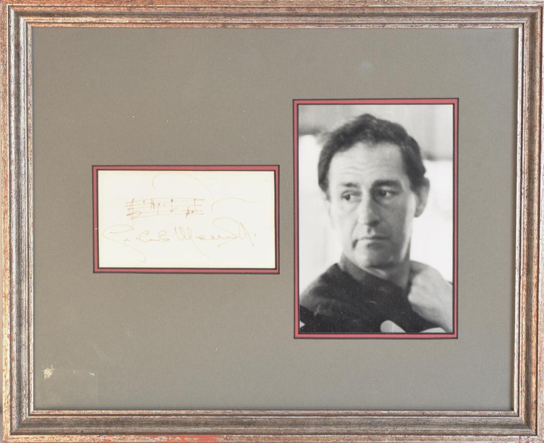 Gian Carlo Menotti AMQS