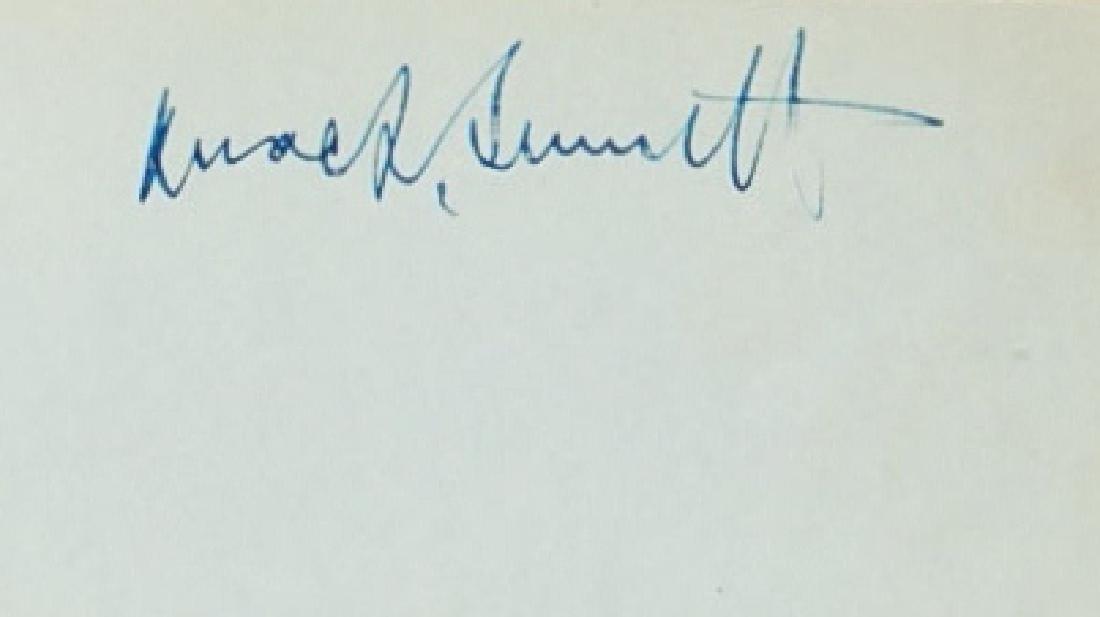 Mack Sennett Vintage signature