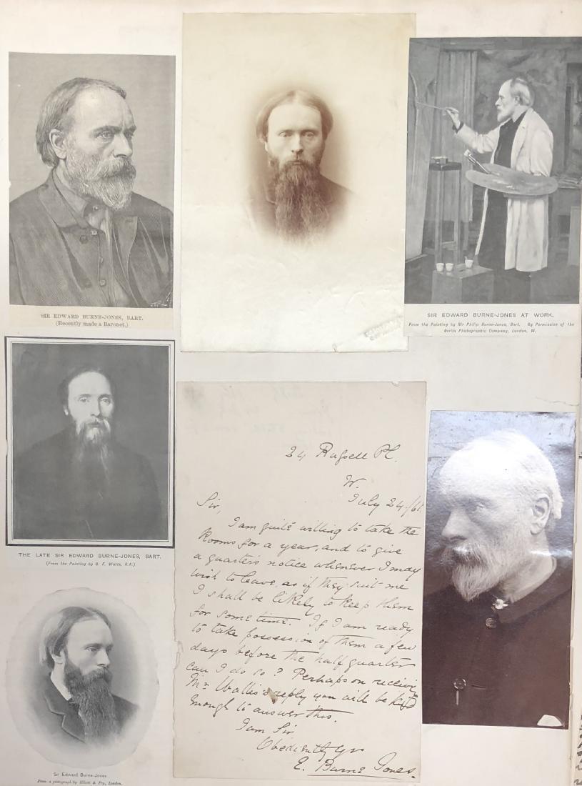 Edward Burne-Jones Autograph Letter Signed