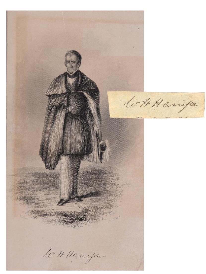 William Henry Harrison as President ( The Rarest!)