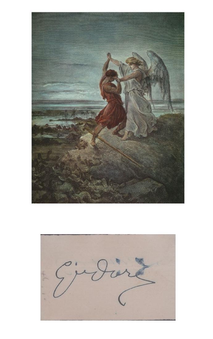 Illustrators Gustav Dore,  James Montgomery Flagg,