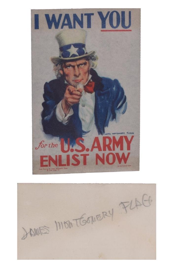 Illustrators Gustav Dore,  James Montgomery Flagg, - 2