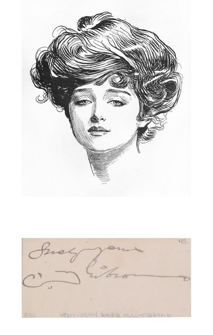 Illustrators Gustav Dore,  James Montgomery Flagg, - 3