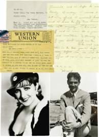 Rare Howard Hughes Love Letter Archive